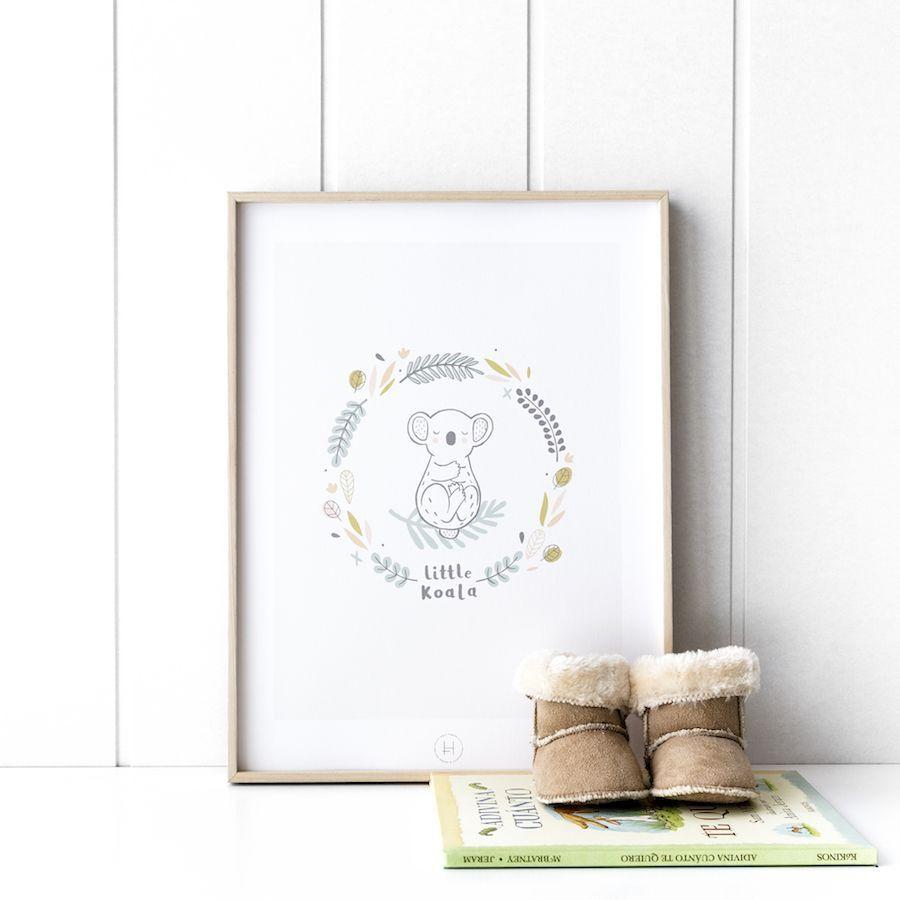 Little koala póster