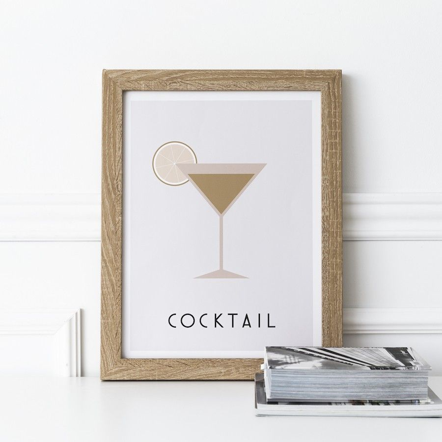 Cocktail lámina