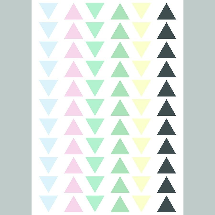 Triangles vinilo colours