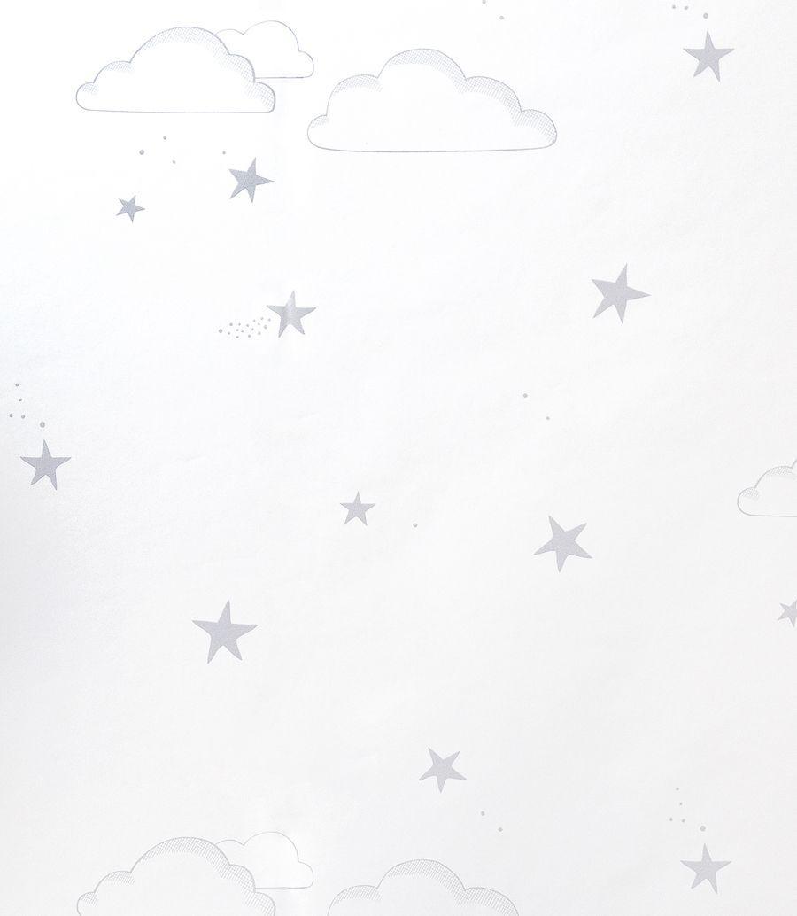 Sky wallpaper cinzento/branco