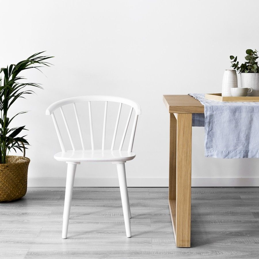Erin cadeira branca