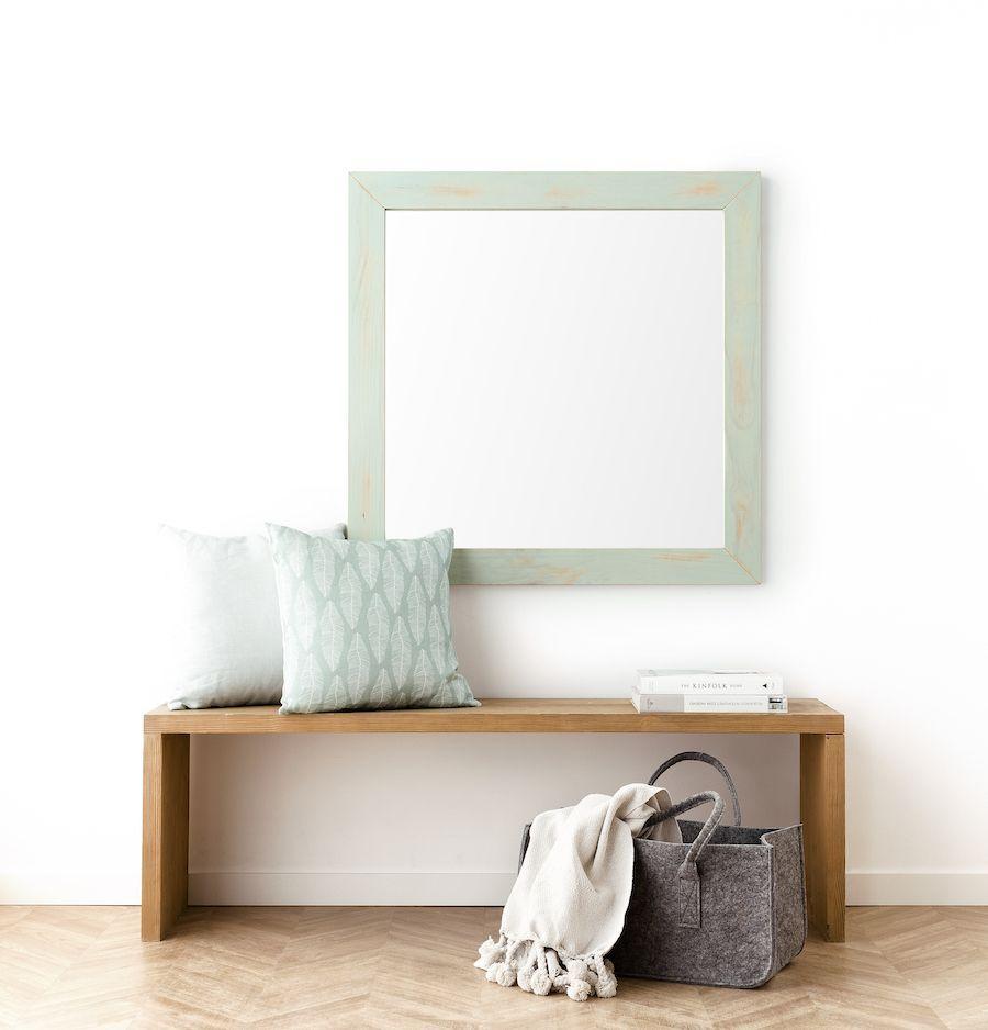 Lise espejo menta 90X90