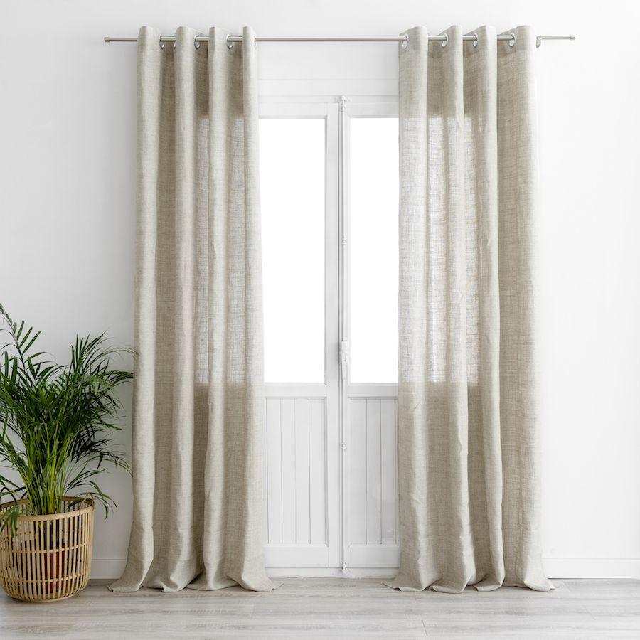 Liss cortina natural