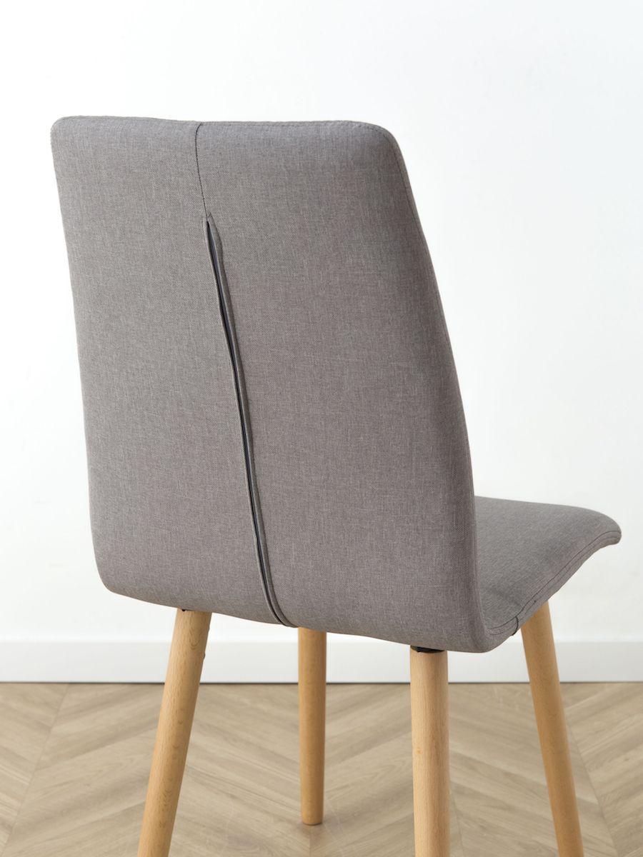 Riba cadeira cinza