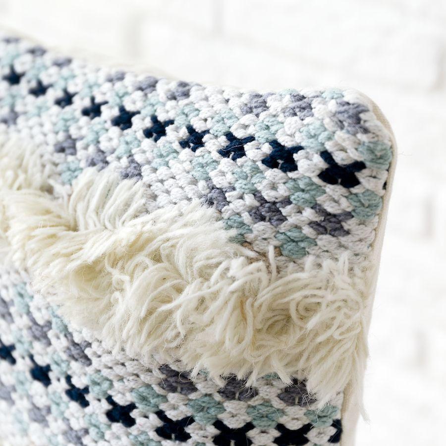 Alur almofada azul