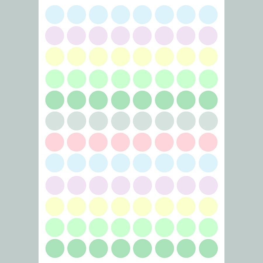 Dots colours vinilo
