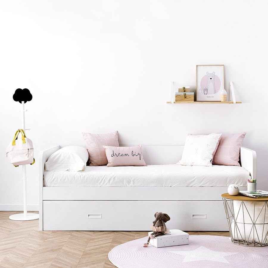 Angle funda nórdica rosa
