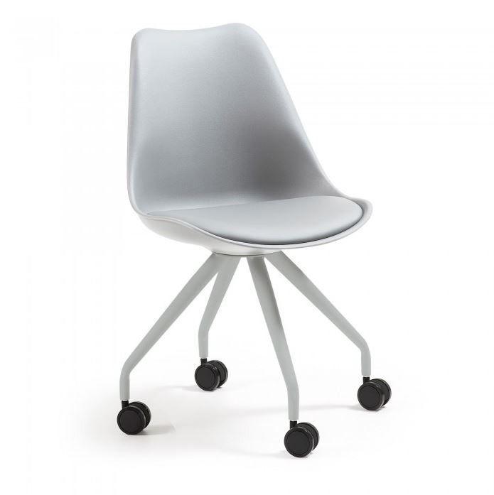 Rass silla con ruedas gris
