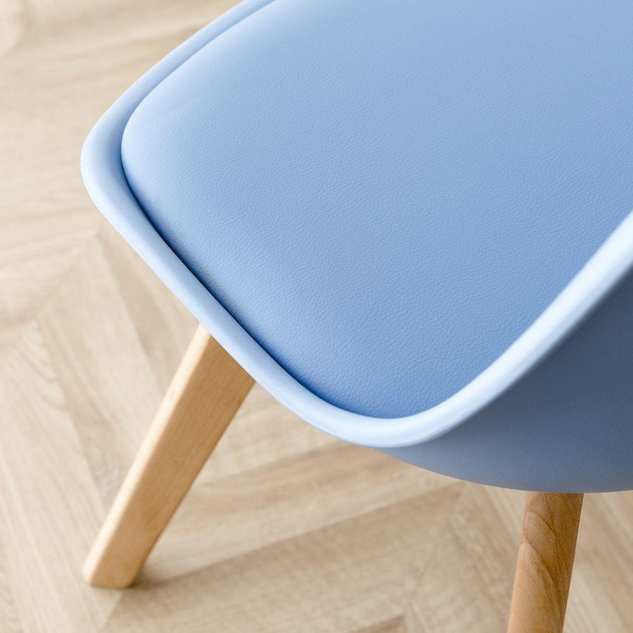 Scandinavian Cadeira Azul