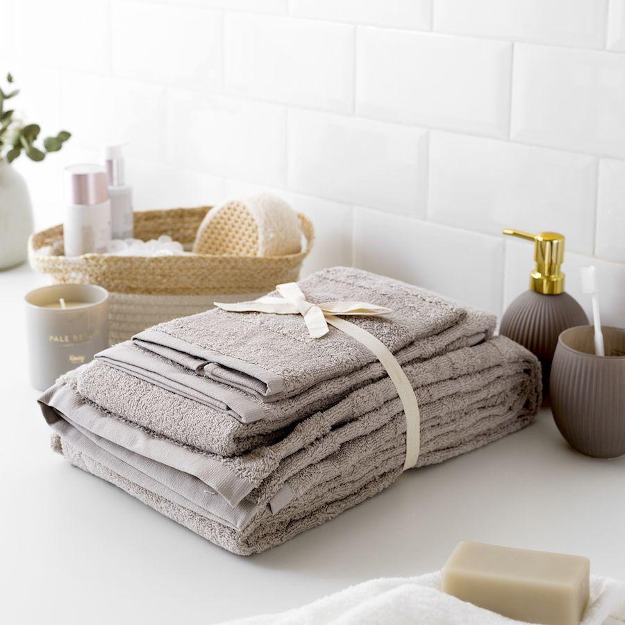 Set toalhas Basic neutro
