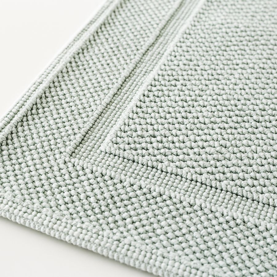 Basic alfombra de baño menta