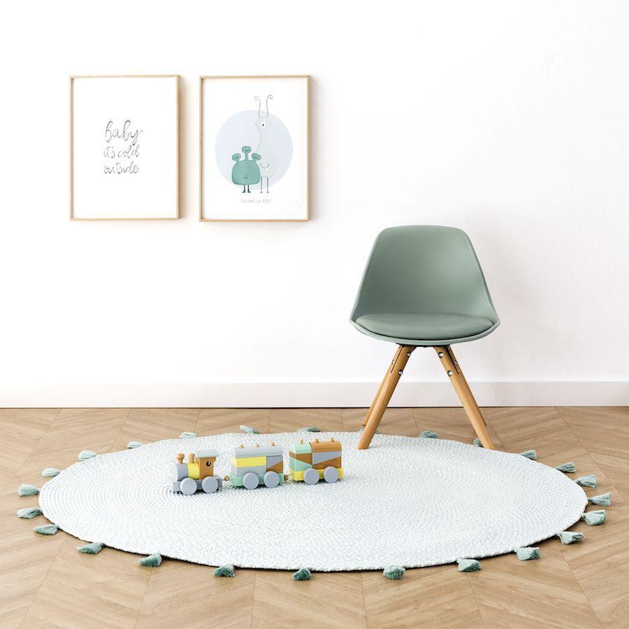 Circle tapete Menta 120x120