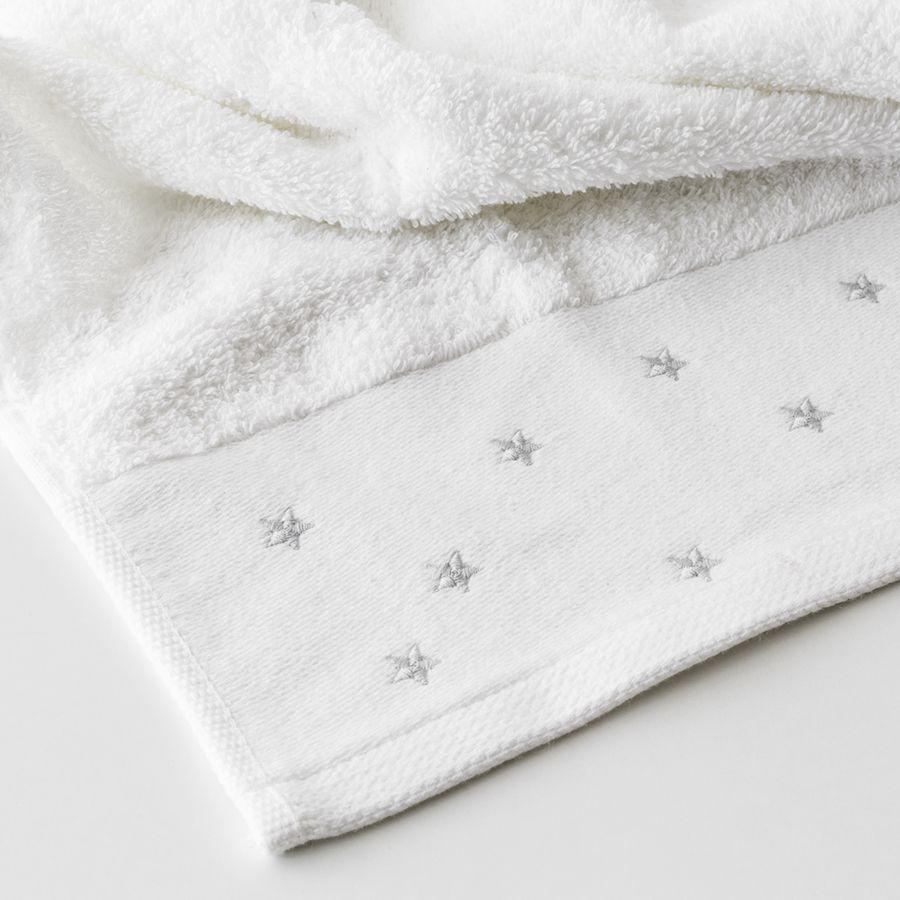 Set toalhas Stars cinzento