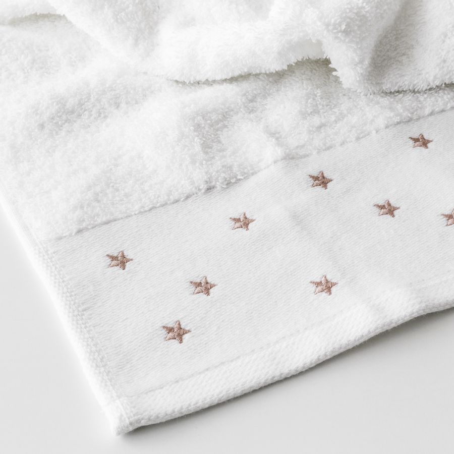 Set toalhas Stars rosa