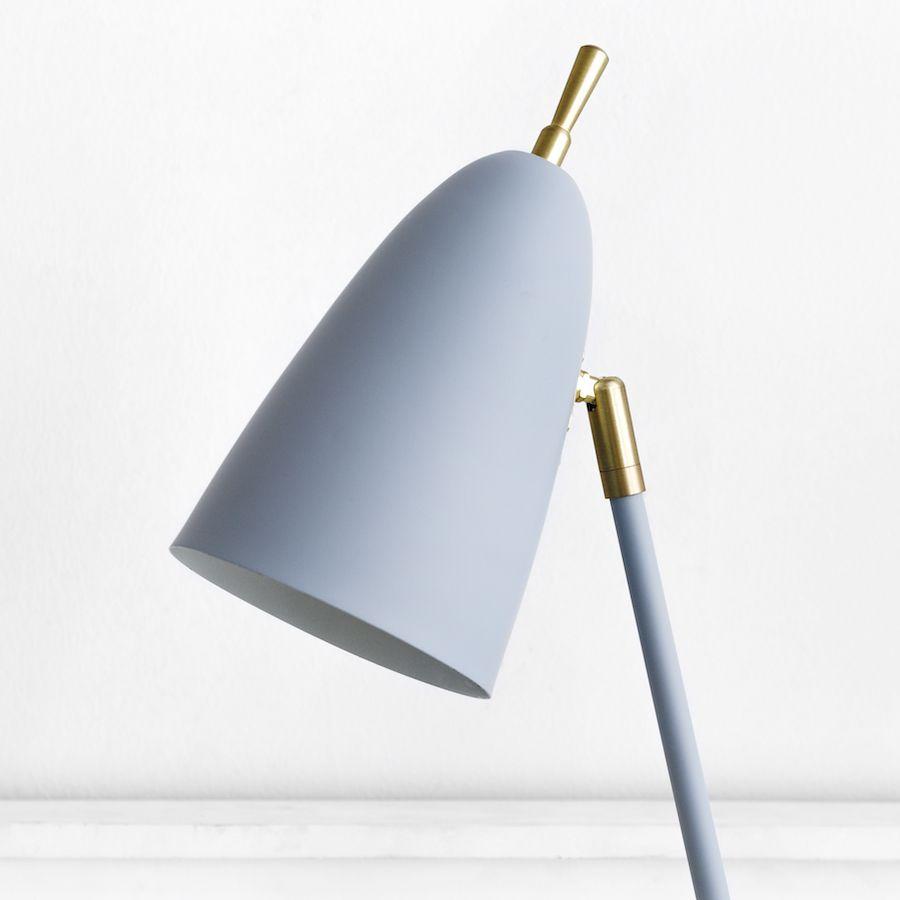Pat lámpara de sobremesa gris