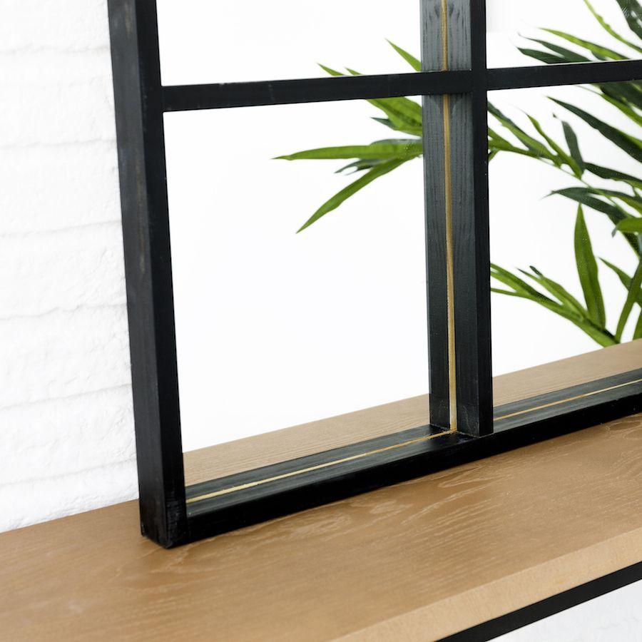Luci espelho 60x90 Negro