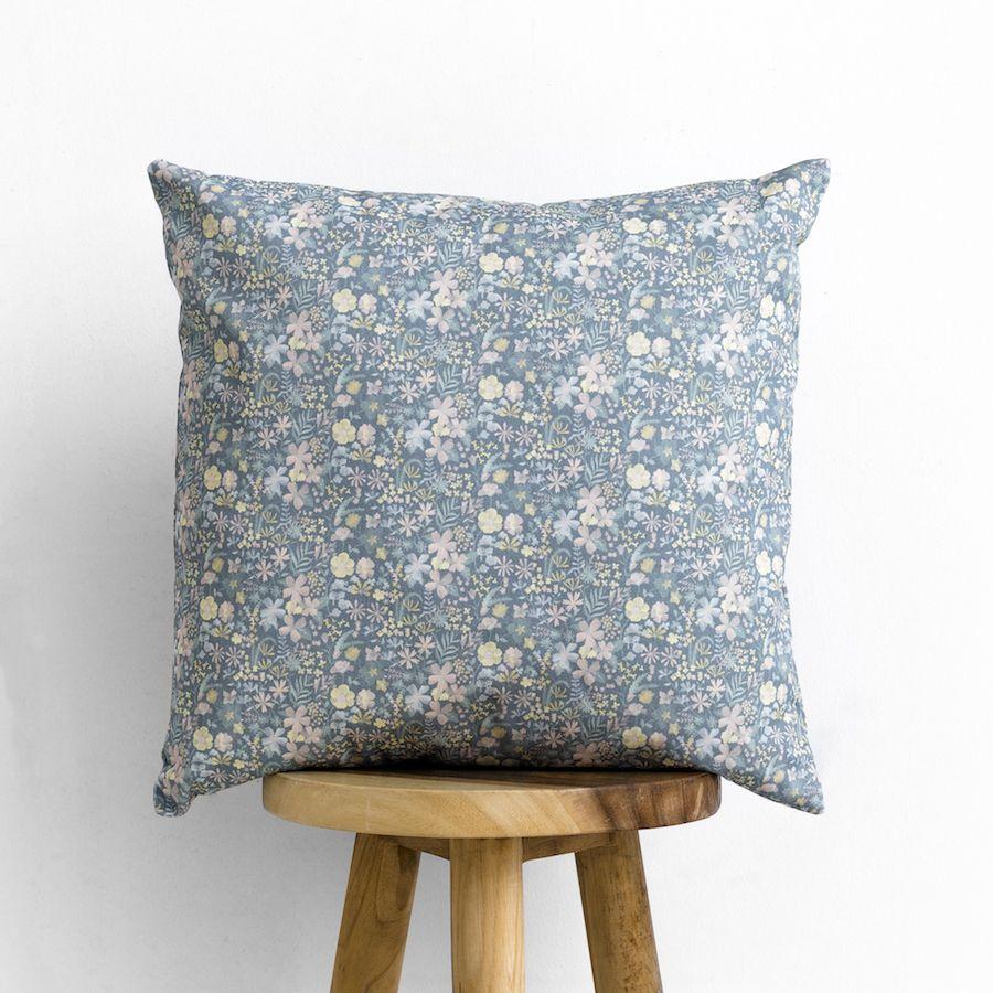 Libby almofada azul