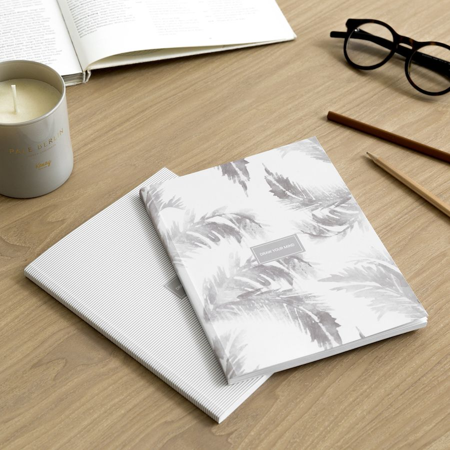 Leaves pack de libretas