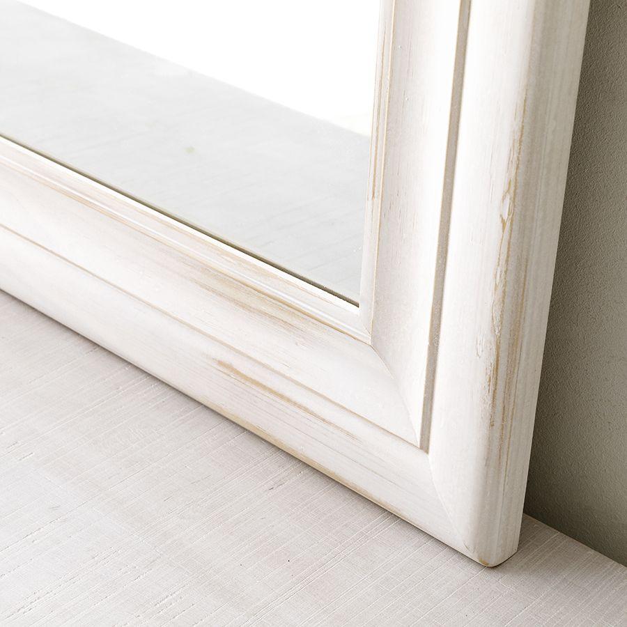 Nima espejo blanco 90X90