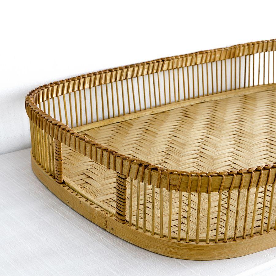 Laila bandeja bamboo