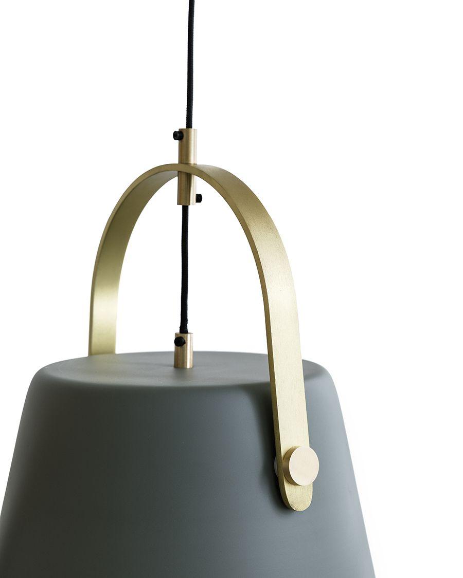 Roko lámpara de techo verde