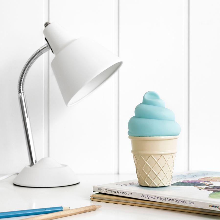 Mini helado azul
