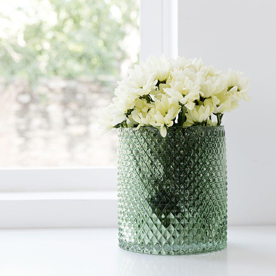 Stil jarrón verde