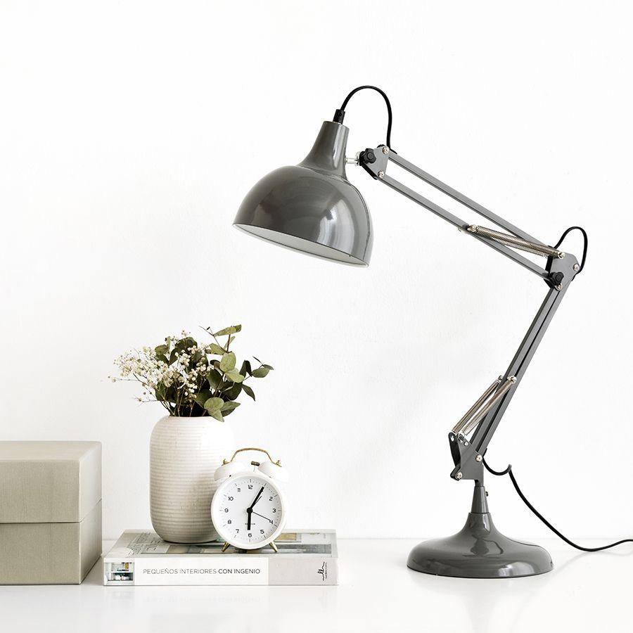 Hobby lámpara gris