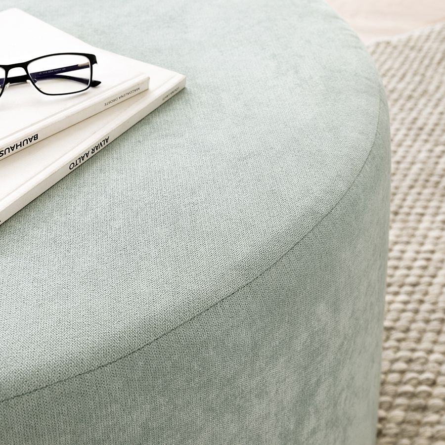 Harmony puf tapizado 80cm