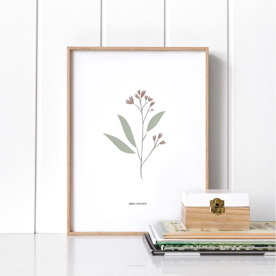 Fleur lámina