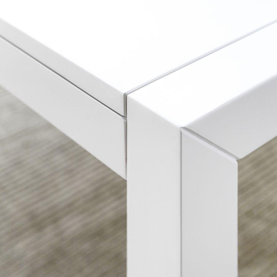 Pack mesa Lane branca e 4 cadeiras Nobu