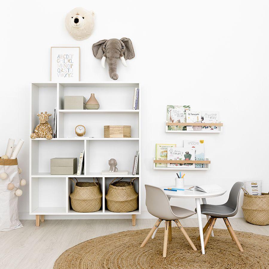 Petit estantería blanca