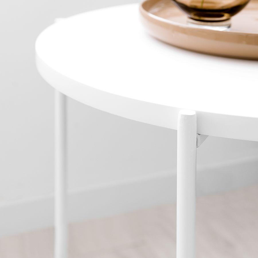 Adis mesa auxiliar blanca