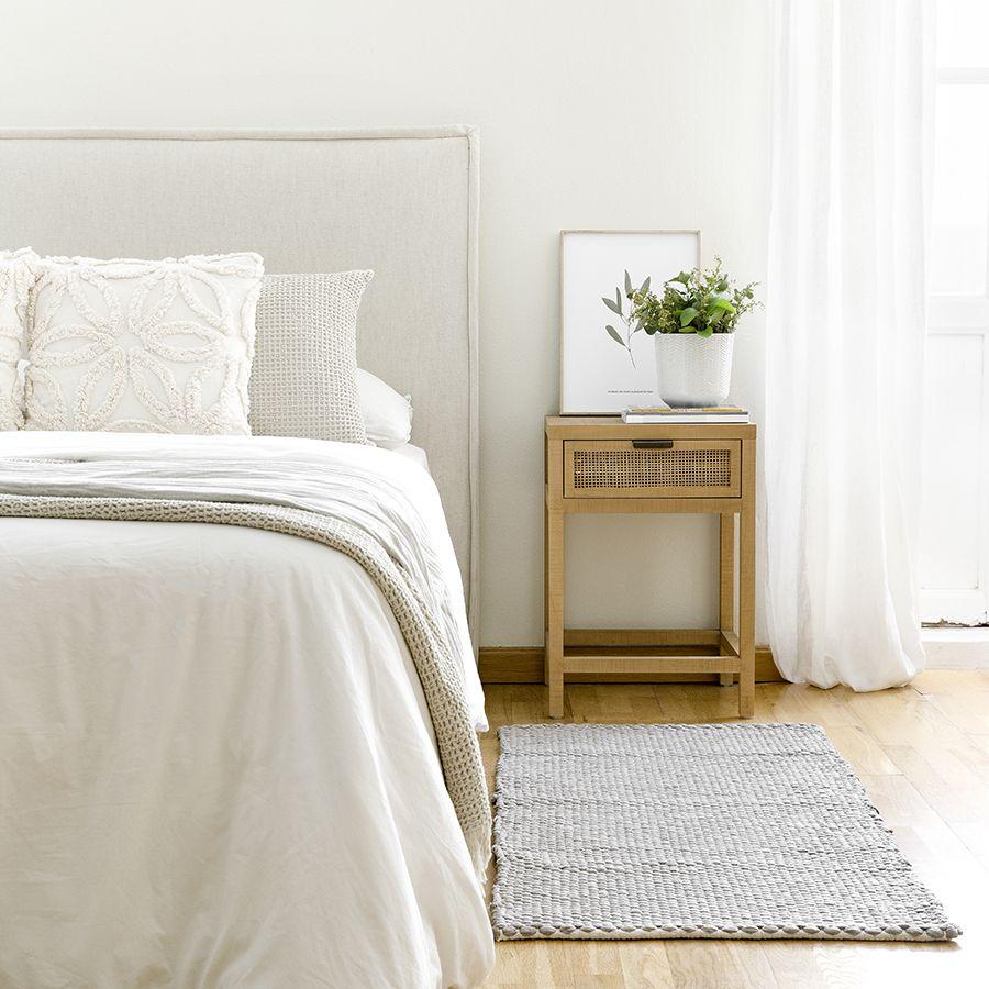 Braid alfombra gris
