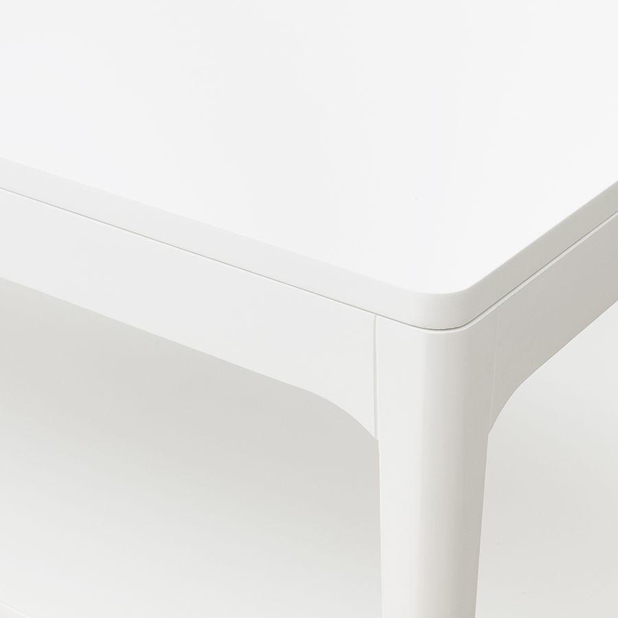 Vinti mesa de centro elevable blanca