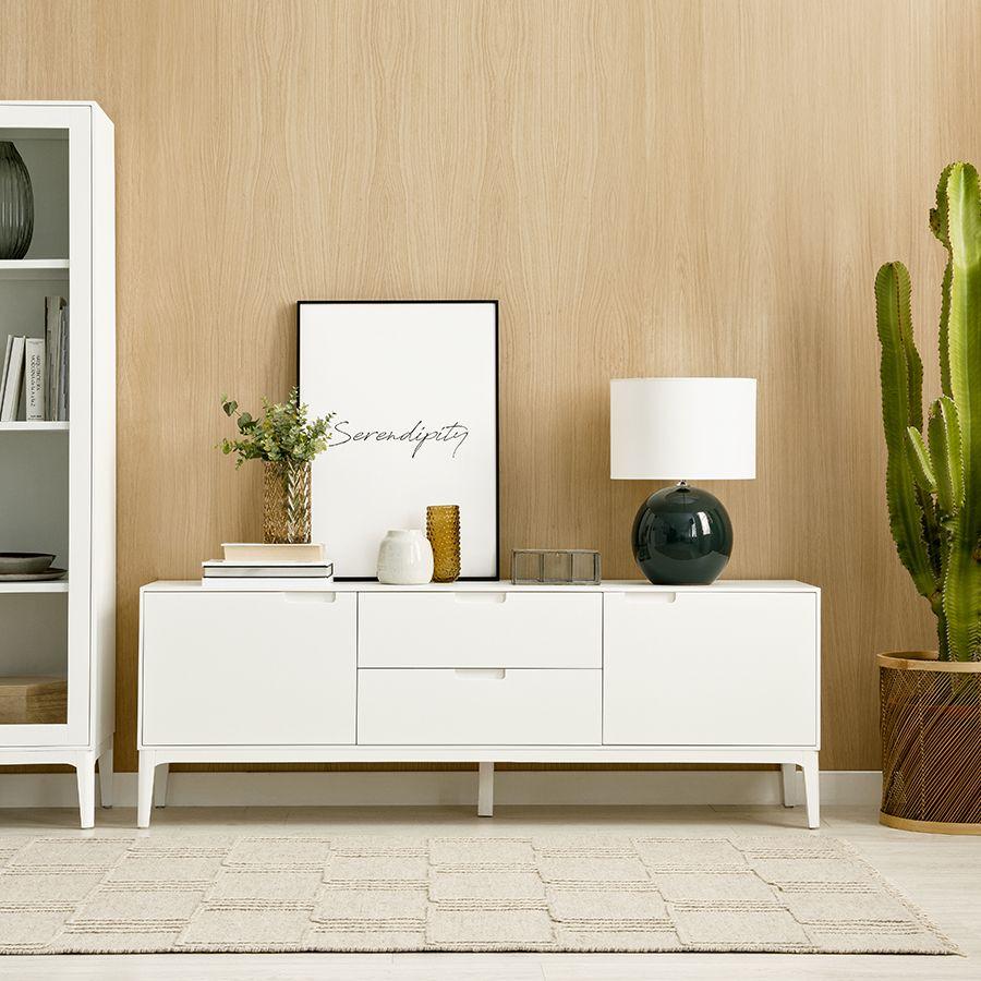 Vinti mueble TV blanco