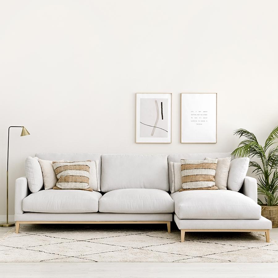 Penta sofá patas natural