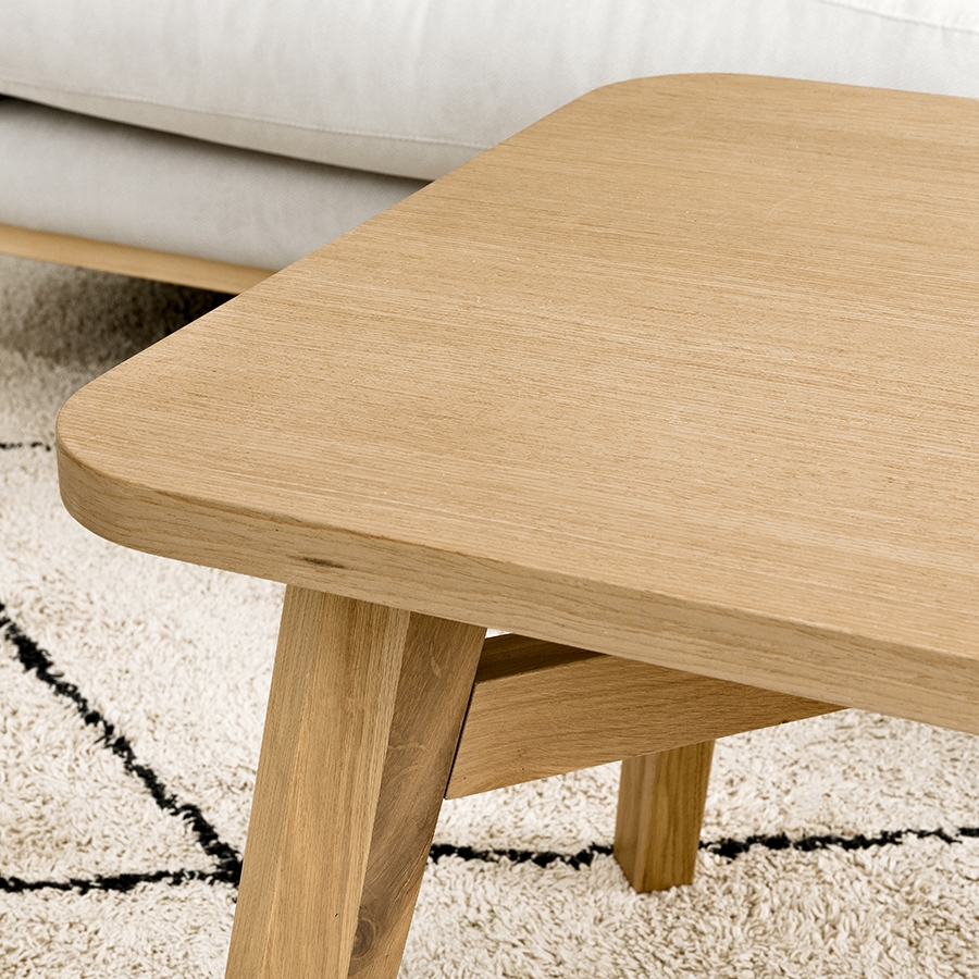 Lavet mesa de centro roble 120