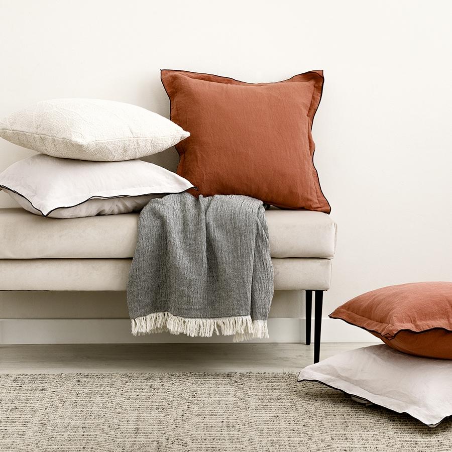 Pack textil terracota