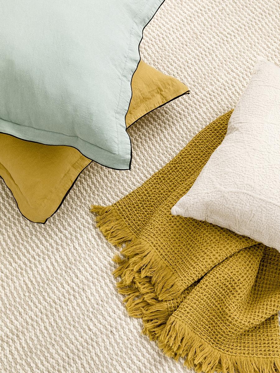 Pack textil menta y mostaza