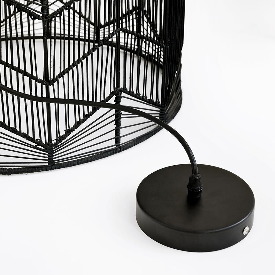 Elga lámpara de techo negra