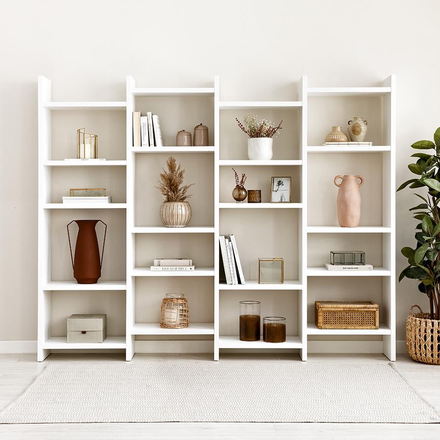 Orise estantería blanca XL