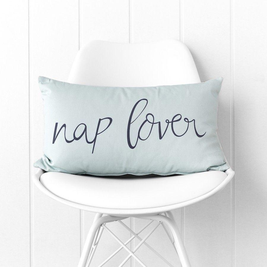 Nap lover cuscino menta 30x50