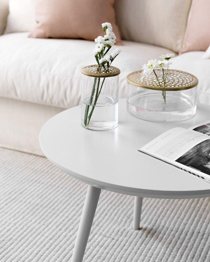 Nord tavolino 60 cm grigio