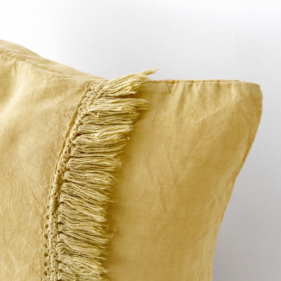 Aline cuscino 45x45 senape