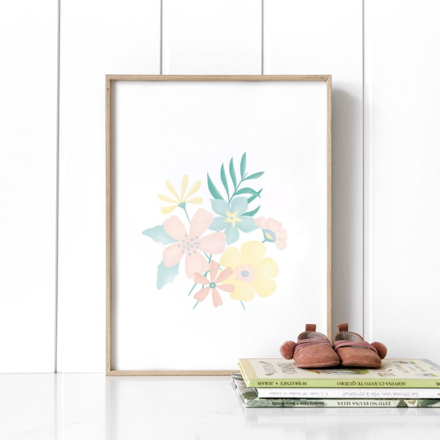 Libby bouquet stampa
