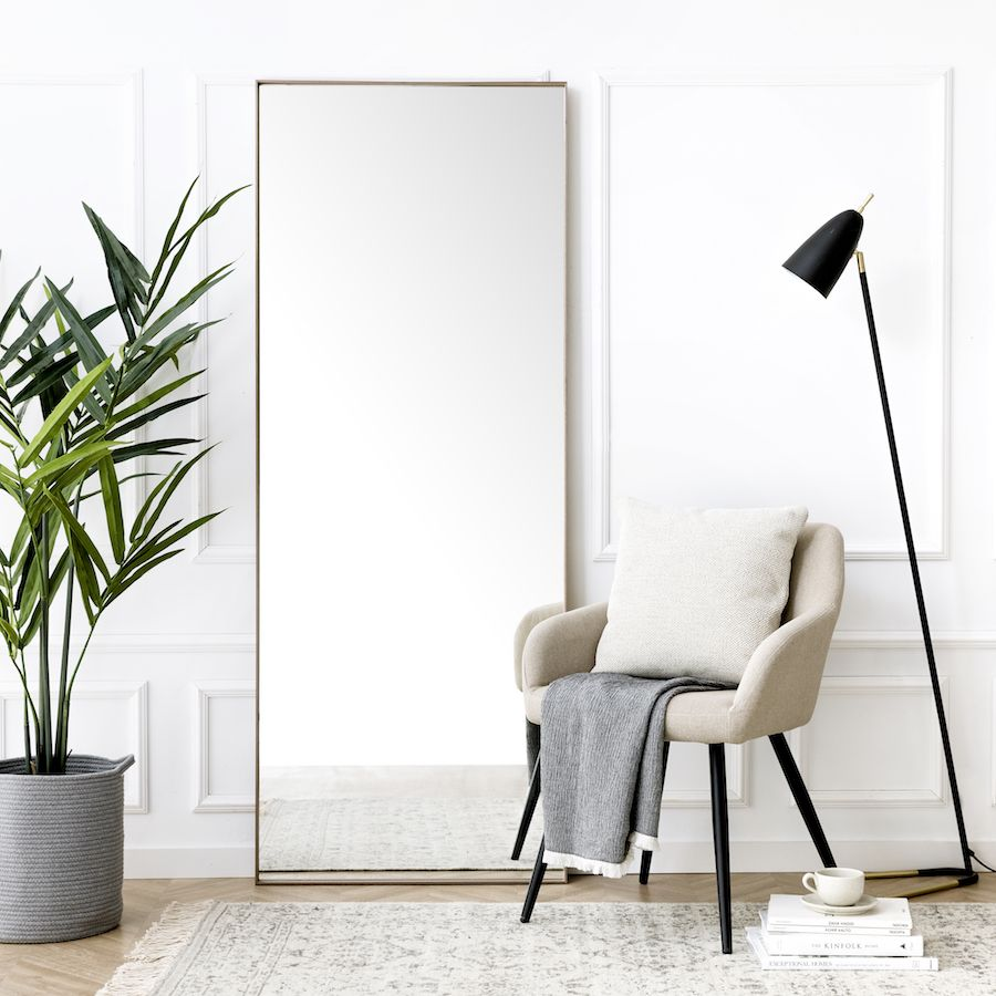 Basic specchio noce 180x70