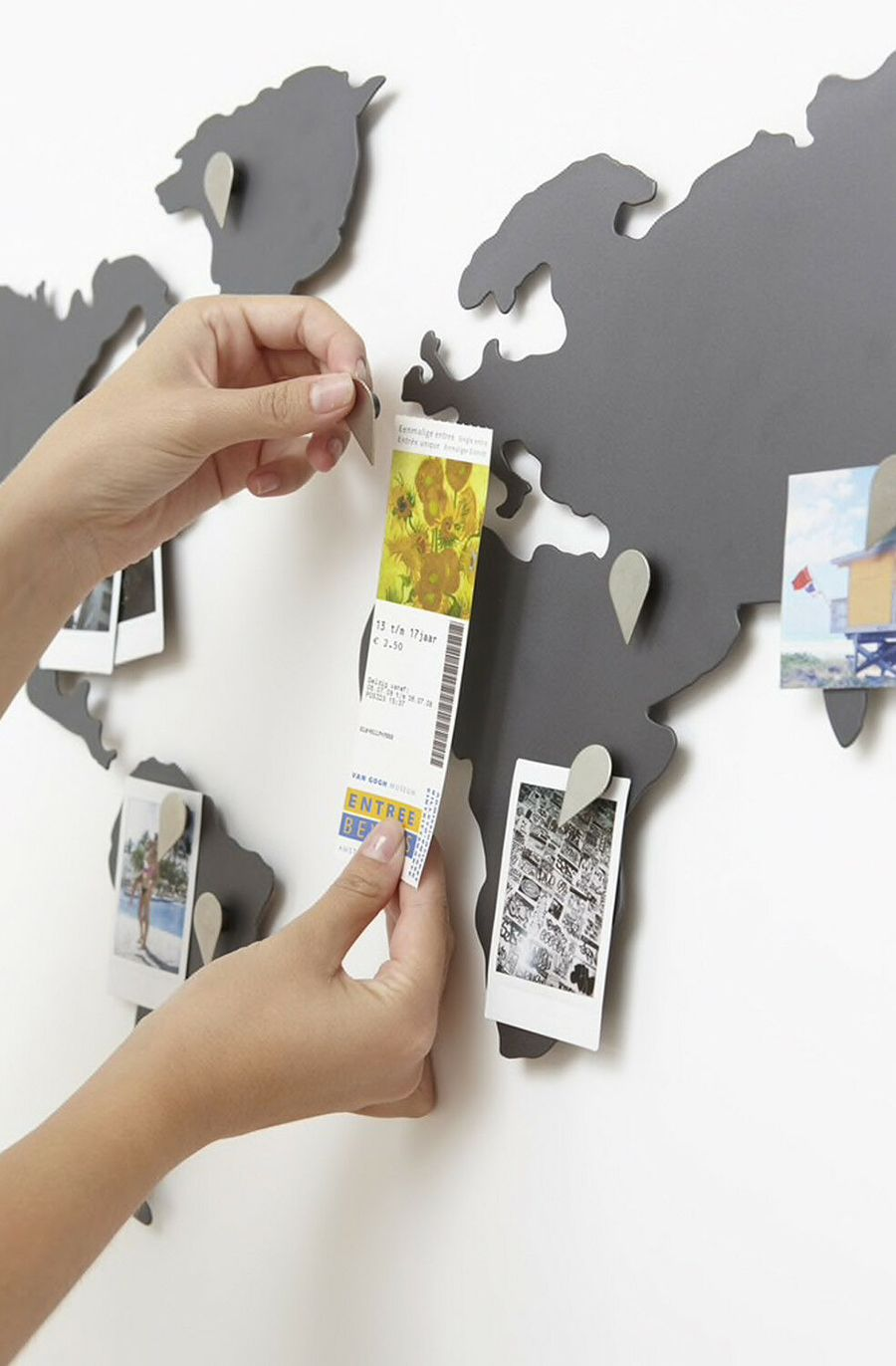World decorazione da parete mappamondo