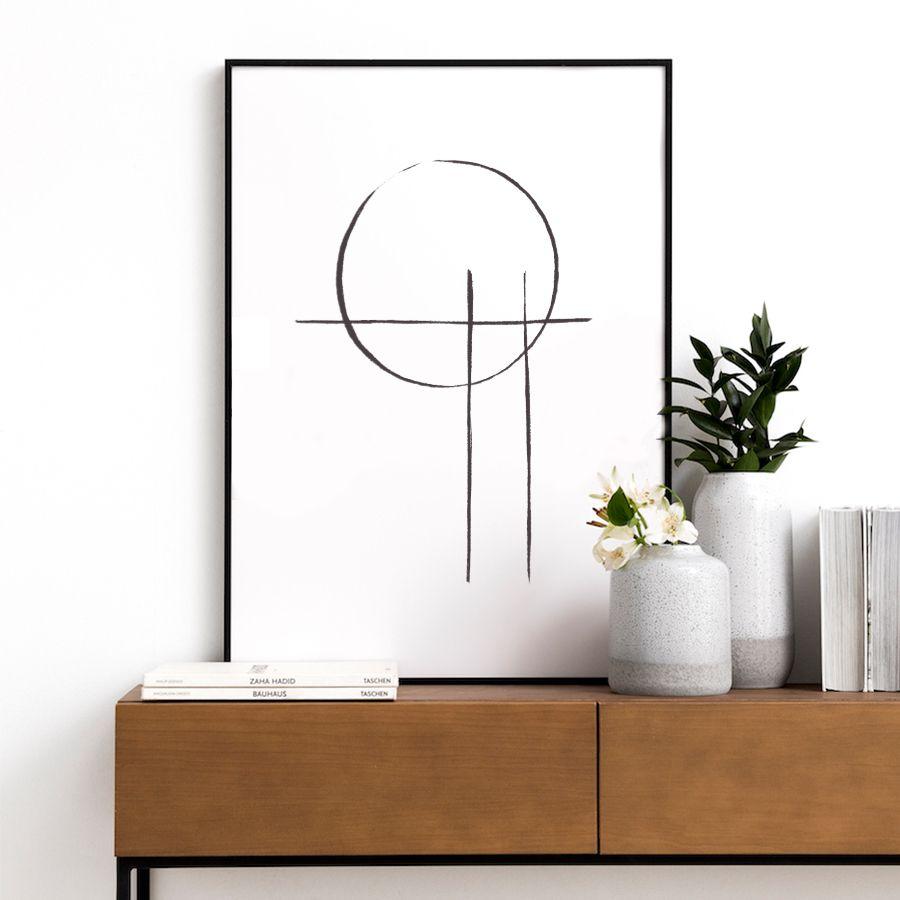 Draw circle lámina