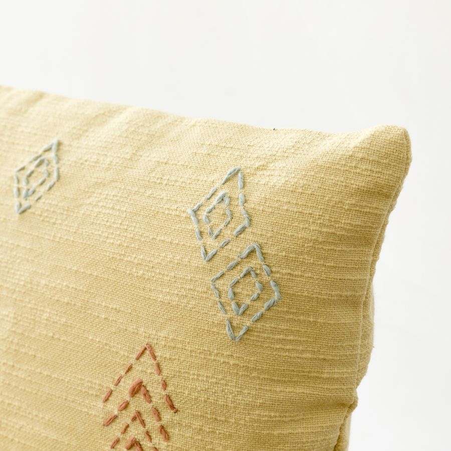 Irisa cuscino giallo